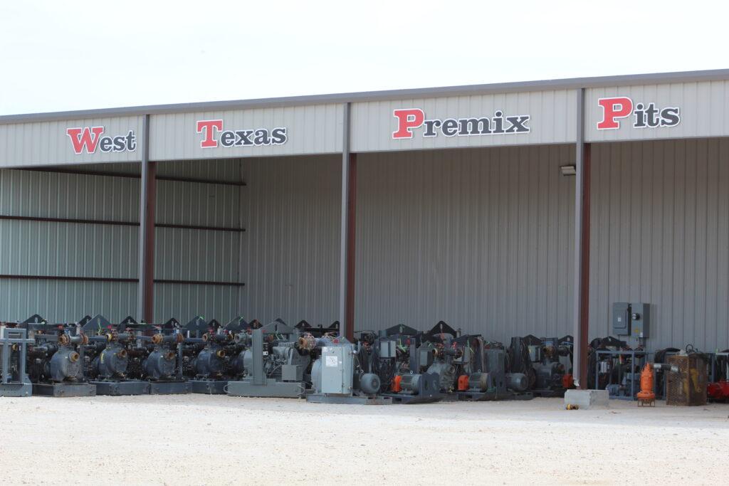 West Texas Premix Pits
